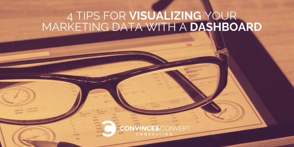 4 suggerimenti per la visualizzazione dei dati di marketing con una dashboard