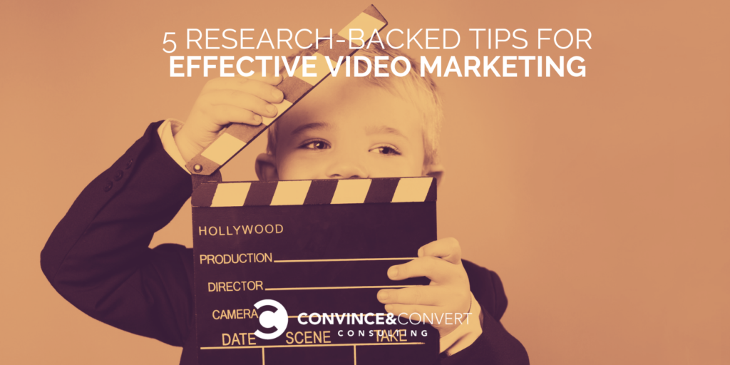 Video marketing efficace