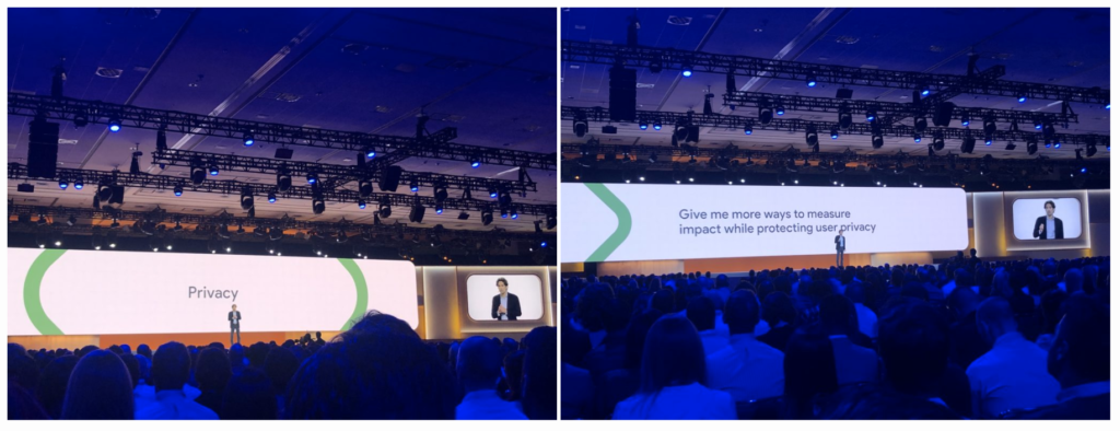 Philipp Schindler, Chief Business Officer, Google, parla di privacy su Google Marketing Live 2019
