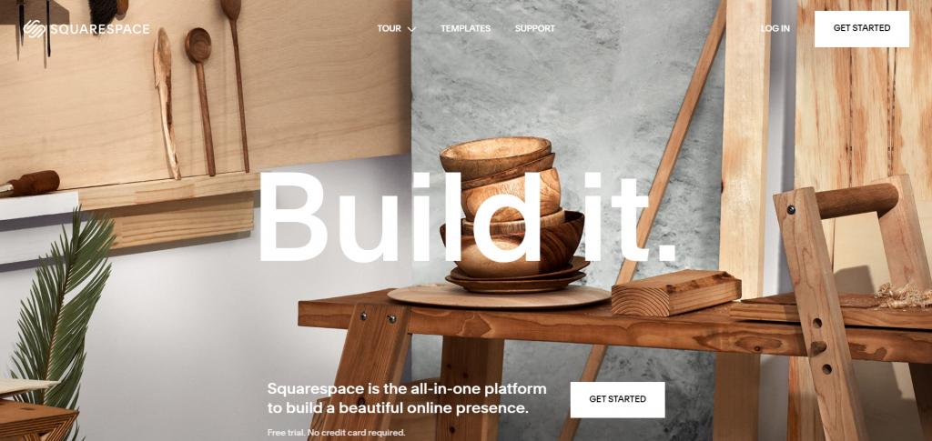 esempio squaresquare di homepage prototipale