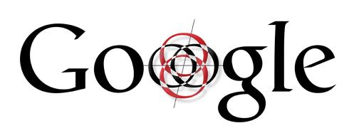 """Caratteri neri Logo Google dove O è una bussola e un bullseye """"width ="""" 504 """"style ="""" width: 504px; blocco di visualizzazione; margine: 0px auto;"""