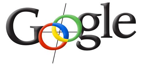 """Primo logo di Google in cui le lettere sono nere tranne per gli OS progettati per sembrare una bussola """"width ="""" 461 """"style ="""" width: 461px; blocco di visualizzazione; margine: 0px auto;"""