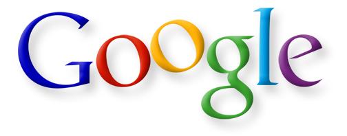 Prima iterazione del logo Google da parte di Ruth Kedar che include un O aumentato