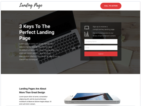 "Landing Form Landing Page Template da Hubspot ""style ="" display: block; margin-left: auto; margin-right: auto;"