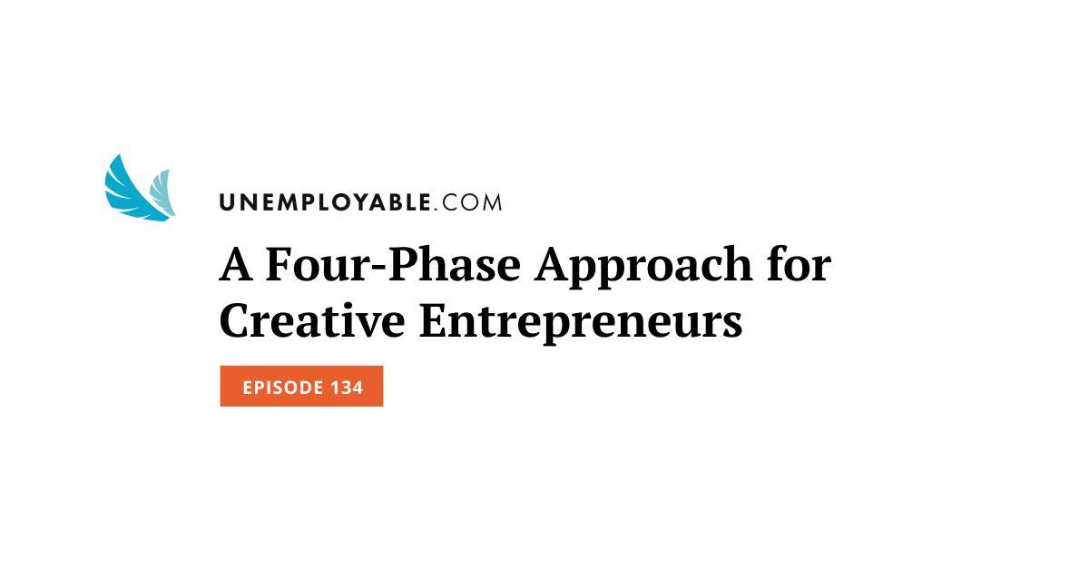 Un approccio in quattro fasi per gli imprenditori creativi