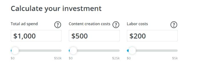 Calcola il tuo investimento