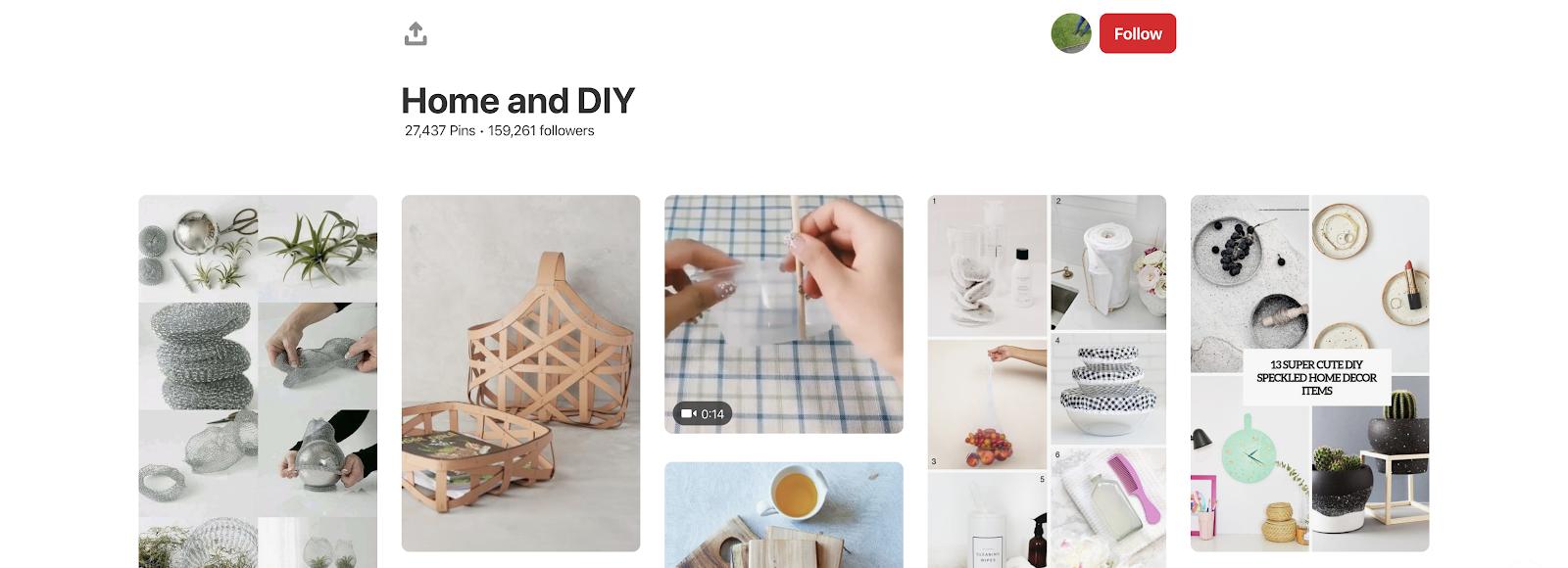 Pinterest Casa e fai da te