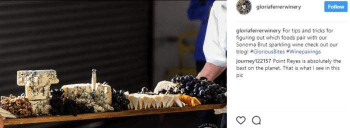 Post social Gloria Ferrer Winery