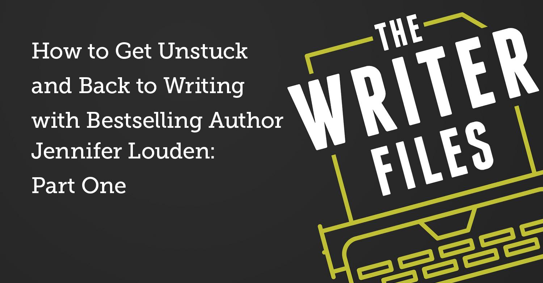 Come ottenere scollarsi e tornare a scrivere con Bestseller Autore Jennifer Louden: prima parte