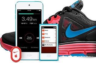 Scarpe Nike +, iPhone e iPod