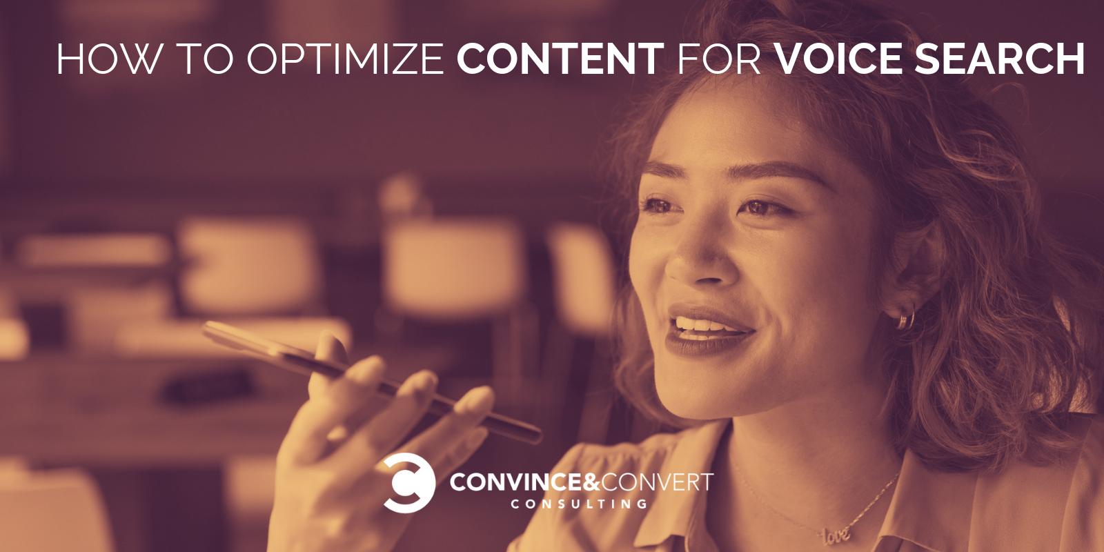 come ottimizzare i contenuti per la ricerca vocale