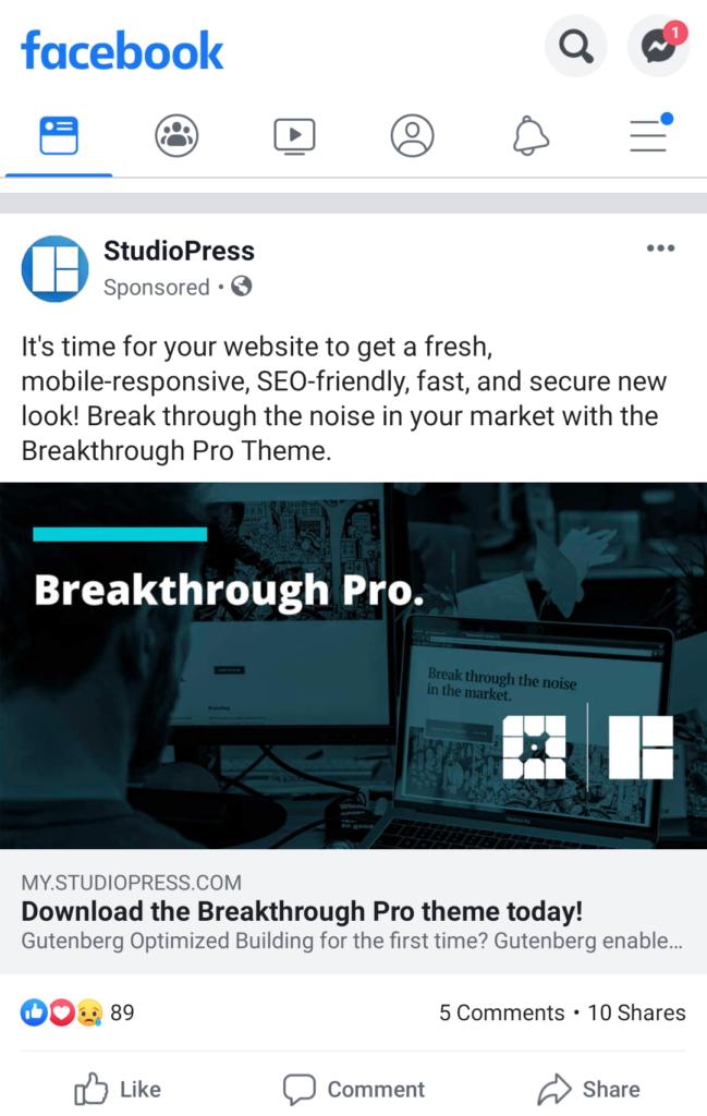 Facebook offre annunci - annunci di annunci di prodotti gratuiti