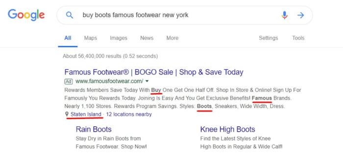 Google ha pagato risultati di ricerca
