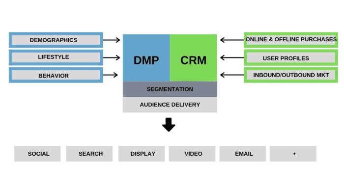 DMP e CRM