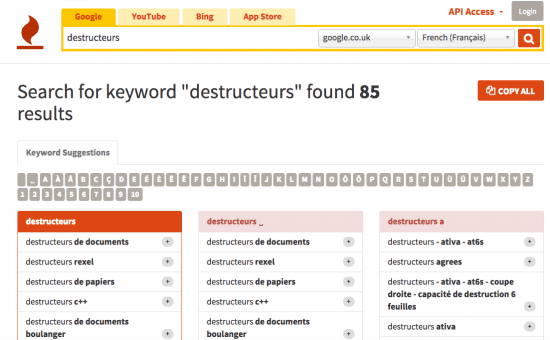 "Esempio di strumento KeyWord ""larghezza ="" 550 ""height ="" 340 ""srcset ="" https://megamarketing.it/wp-content/uploads/2019/07/1562316202_446_10-strumenti-di-marketing-online-gratuiti-per-ogni-marketer-quothands-onquot.png 550w, https://www.smartinsights.com/wp-content/uploads/2012/11/2015-01-22_07-55-10-150x92.png 150w, https://www.smartinsights.com/wp-content /uploads/2012/11/2015-01-22_07-55-10-700x432.png 700w, https://www.smartinsights.com/wp-content/uploads/2012/11/2015-01-22_07-55- 10-250x154.png 250w, https://www.smartinsights.com/wp-content/uploads/2012/11/2015-01-22_07-55-10.png 1103w ""dimensioni ="" (larghezza massima: 550px) 100vw, 550px"