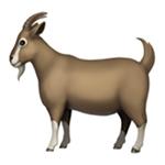 emoji di capra