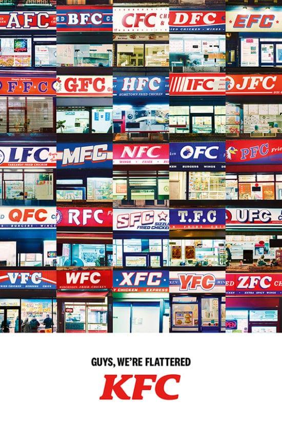 Ragazzi KFC siamo lusingati