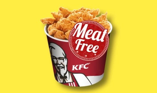 Opzioni senza carne KFC