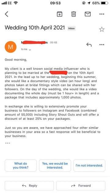 Influencer matrimoniale 1
