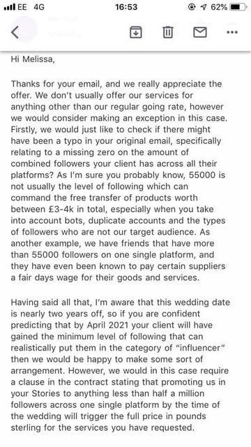 Influencer matrimoniale 2
