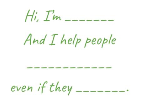 Ciao, sono a posto, e aiuto le persone in bianco anche se non ci sono ... guida per trovare il pubblico