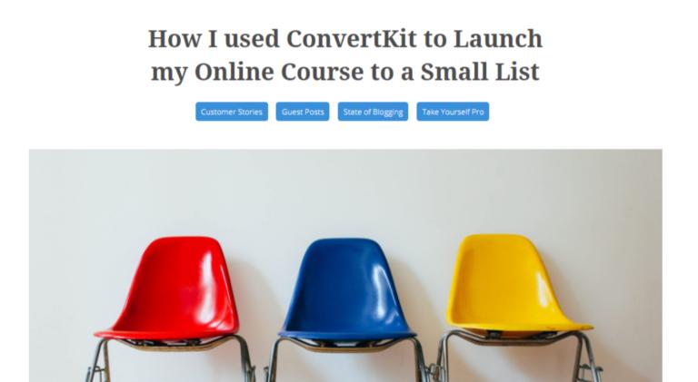 Esempio di ConvertKit