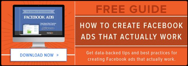 guida gratuita alla pubblicità su Facebook