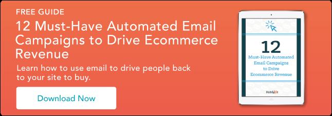 12 campagne e-mail automatiche indispensabili per l'e-commerce