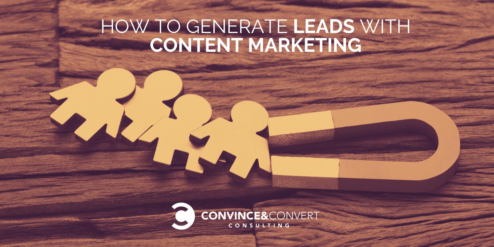Come generare lead con Content Marketing
