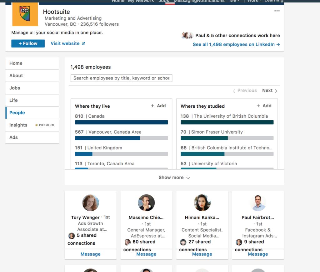 promuovere la tua attività su LinkedIn
