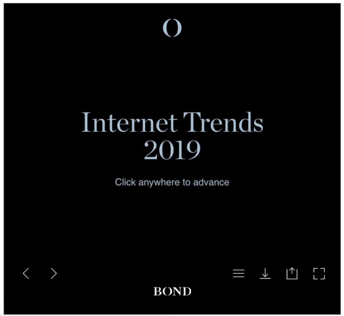 Bond Internet Trends 2019