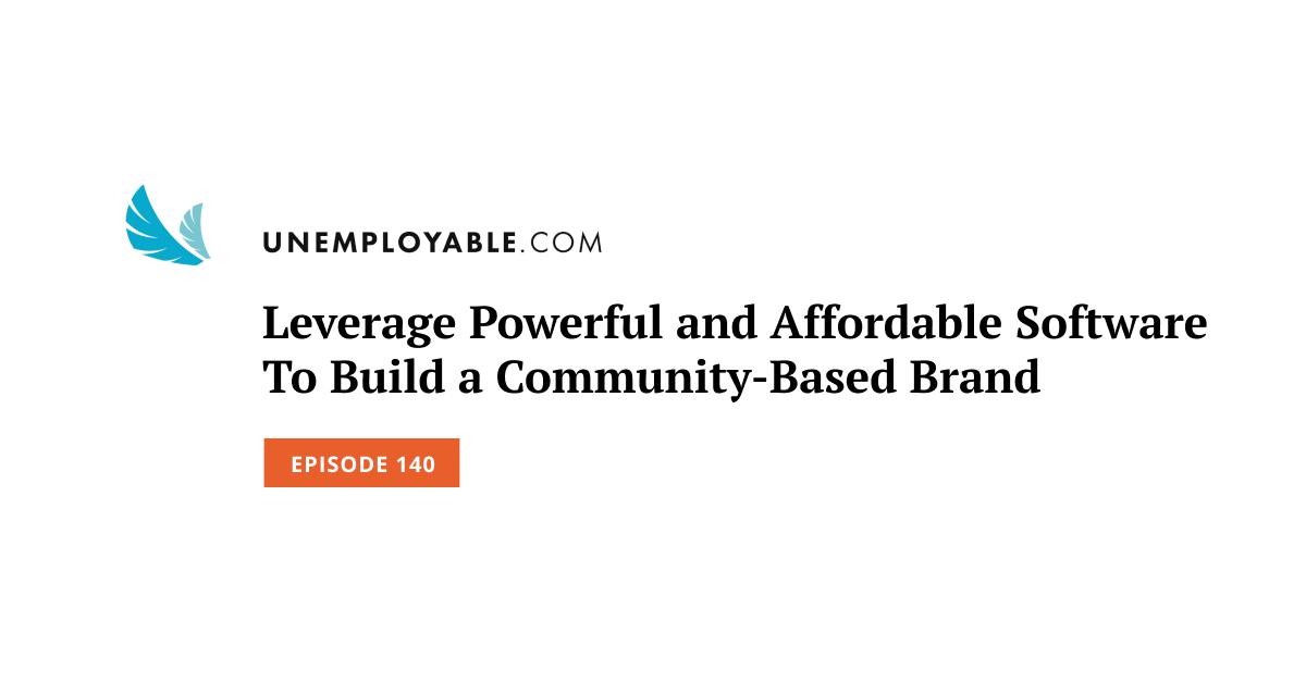 Sfrutta software potente e conveniente per creare un marchio basato sulla comunità