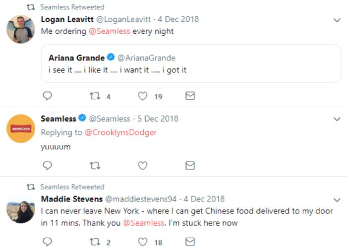 rispondendo ai follower su Twitter