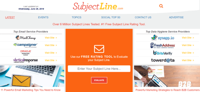 Linee di apertura per le email di appuntamenti