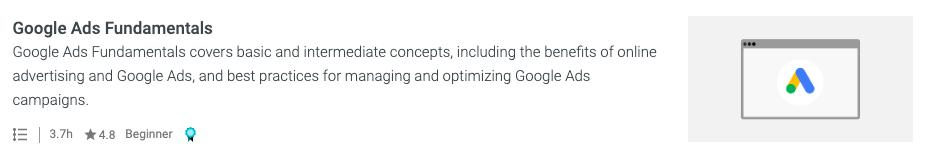 Certificazione annunci Google - esame dei fondamenti