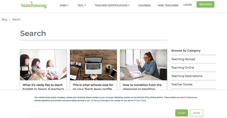 teach-via-blog