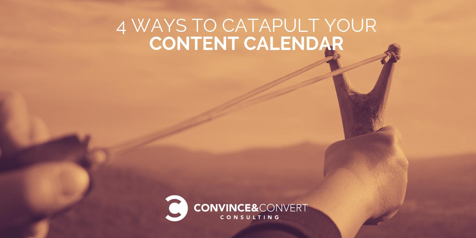Catapulta il tuo calendario dei contenuti