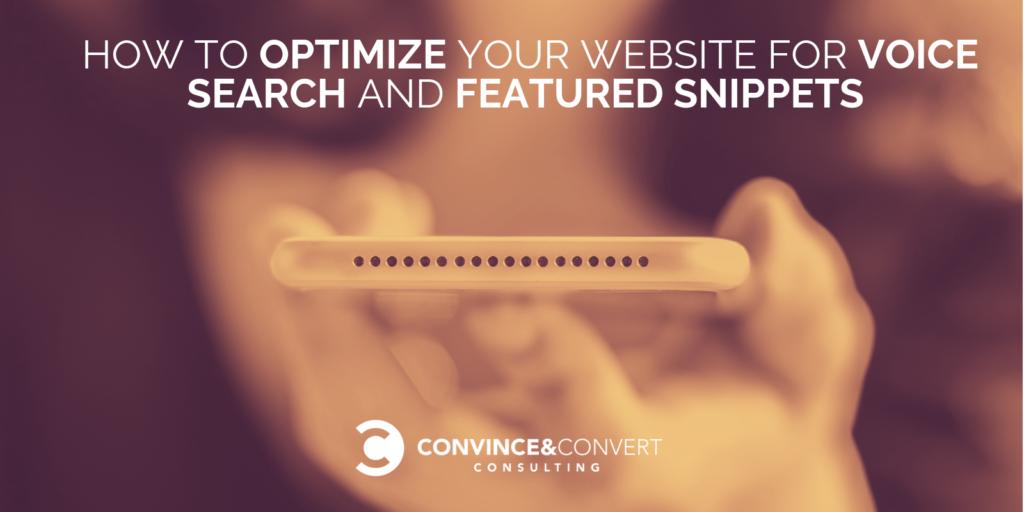 Come ottimizzare il tuo sito Web per la ricerca vocale e i frammenti in primo piano