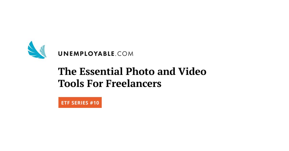 Gli strumenti fotografici e video essenziali per i liberi professionisti