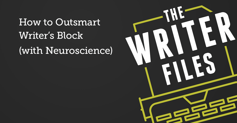 Come superare in astuzia Writer's Block (con Neuroscience)