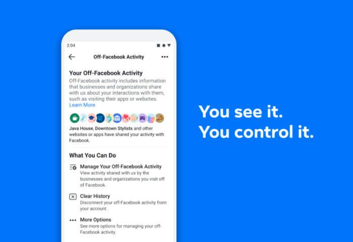 Facebook Cancella cronologia