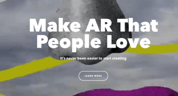 Snapchat Lens Studio AR