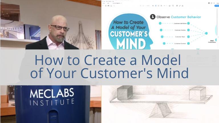 Come creare un modello per la mente del cliente