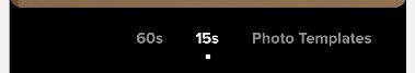 Utilizzando la barra del tempo sotto lo schermo della telecamera per impostare la durata del video su TikTok
