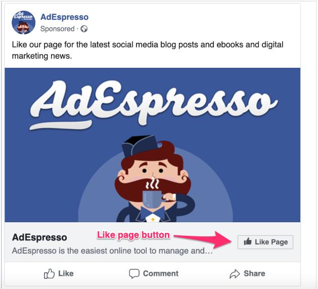 Annuncio come Facebook
