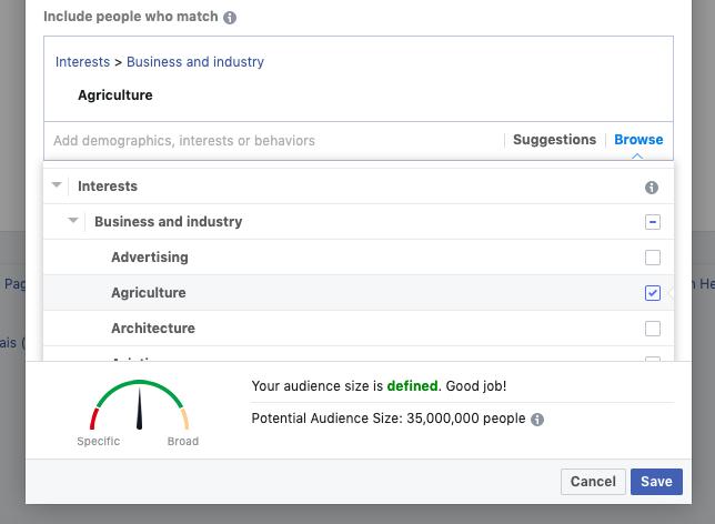 A Facebook piace il targeting per interesse del pubblico