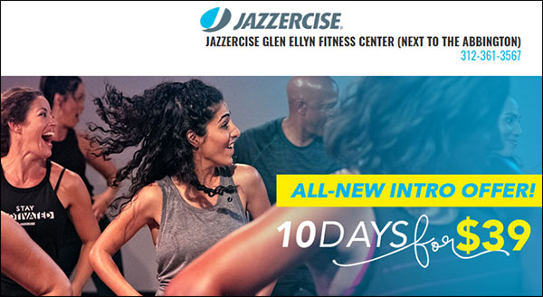 Offerta introduttiva a sconto estremo da una palestra Jazzercise