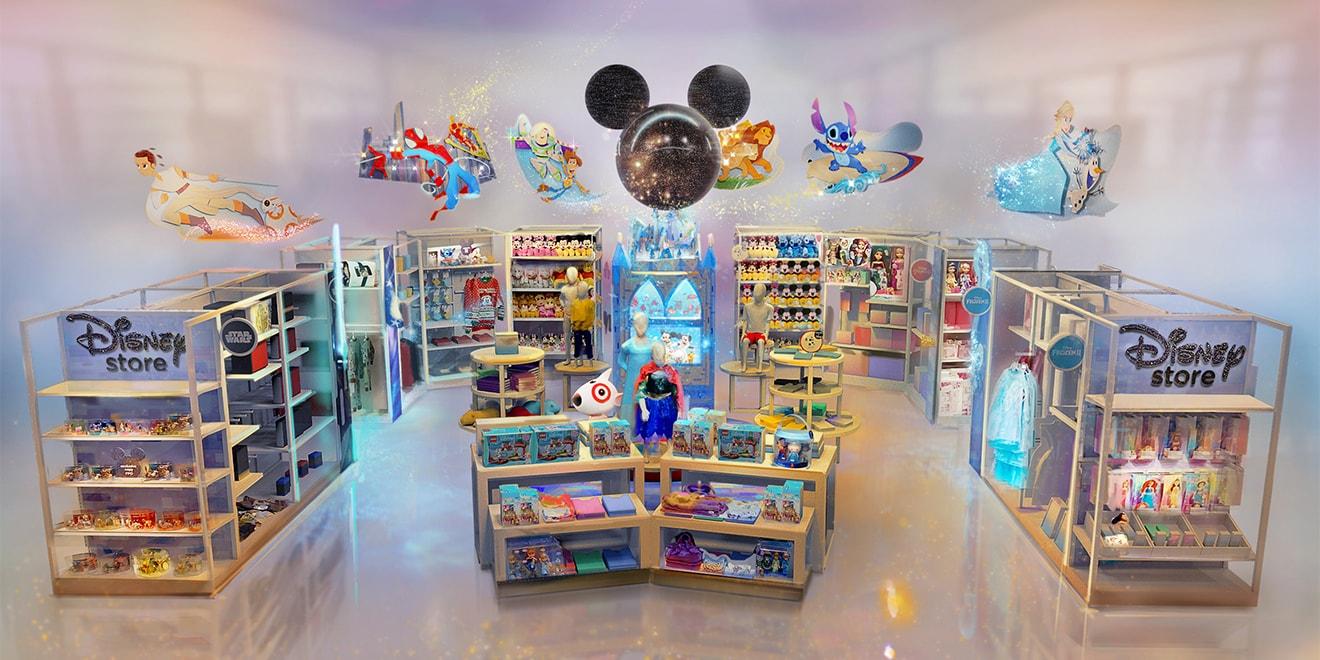 immagine del negozio di Disney