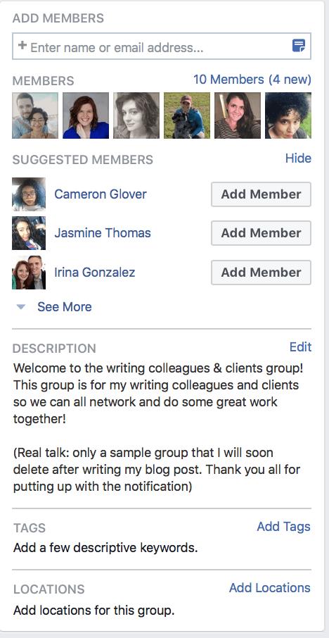 Gruppi Facebook per aziende