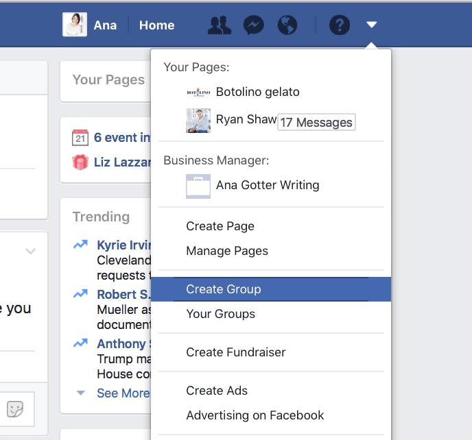 Utilizzo dei gruppi di Facebook per il marketing